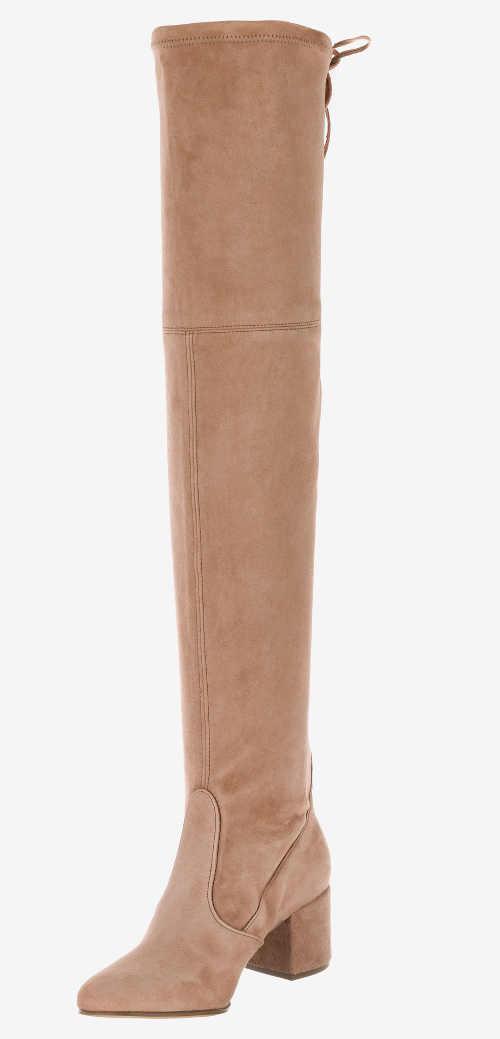 dámské vysoké kozačky nad kolena