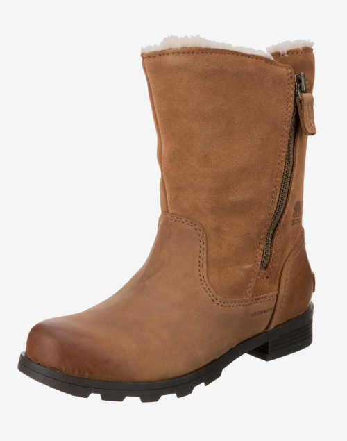 Hnědé dámské zimní boty Sorel výprodej