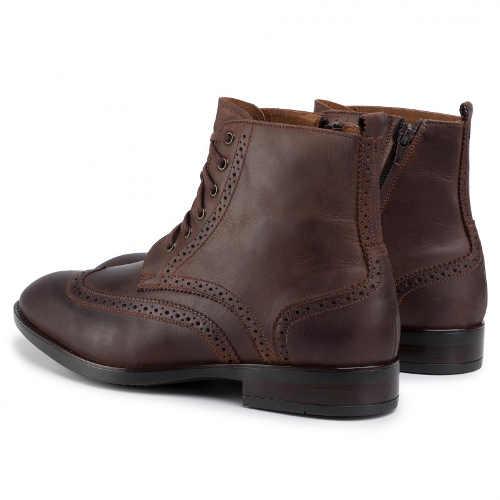 kvalitní kotníkové šněrovací boty pro pány