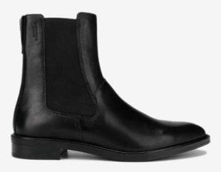 Černé dámské kotníkové zimní boty Vagabond