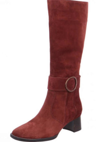 moderní dámská hnědá obuv