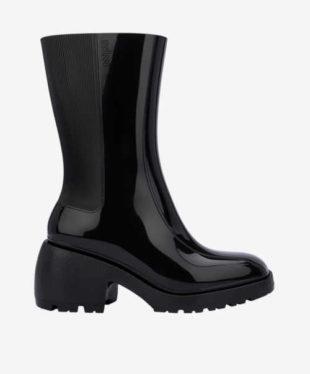 Černé kotníkové boty Melissa