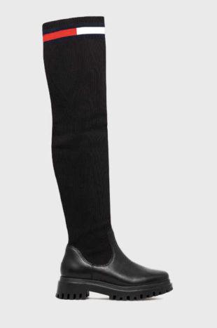 Luxusní dámské vysoké kozačky Tommy Jeans